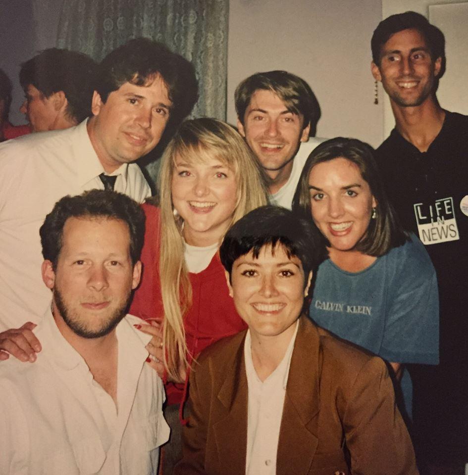 Rebecca Hale Dan Leach and other KIRO coleagues