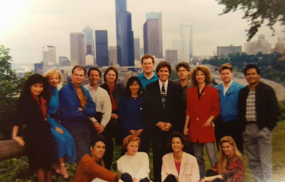 Evening Crew 1990